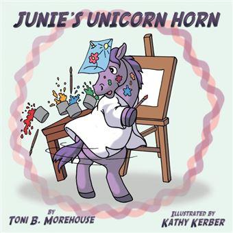 junies Unicorn Horn Paperback -