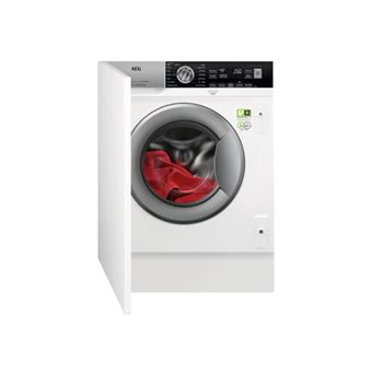 Máquina de Lavar Roupa Encastrável AEG L8FEC842BI 8Kg A+++ Branco