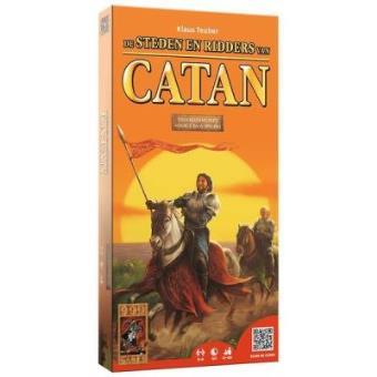 Jogo de tabuleiro 999 Games De Kolonisten van Catan: Steden & Ridders 5/6 spelers Multi