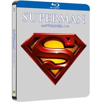 Superman I-Iv Black Metal Edition Blu-Ray (4Blu-ray)