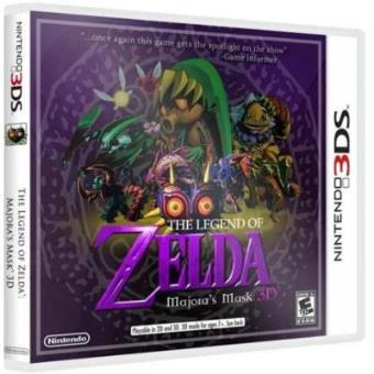 the legend of zelda majora s mask 3d nintendo 3ds jogo compra