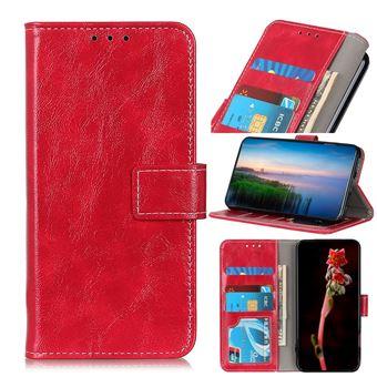 Capa Magunivers | TPU pele de cavalo louco Vermelho para Xiaomi Mi Note 10/Note 10 Pro/CC9 Pro
