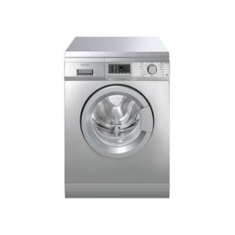 Máquina de Lavar Roupa Carga Frontal Smeg SLB147X 7Kg A+ Cinzento