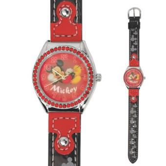 b67aa71a74a Relógio de pulso Disney Mickey rhinestone preto vermelho - Relógios Criança  - Compra na Fnac.pt