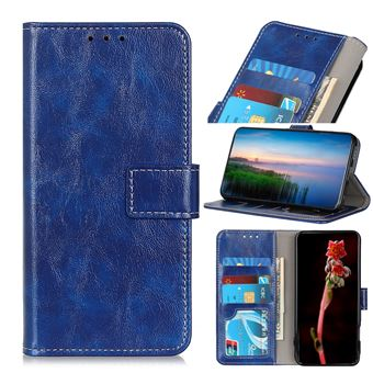 Capa Magunivers | TPU pele de cavalo louco Azul para Xiaomi Mi Note 10/Note 10 Pro/CC9 Pro