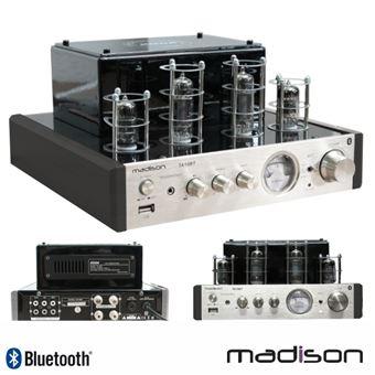 Amplificador Madison a Válvulas 2X50W Vintage USB/Bt