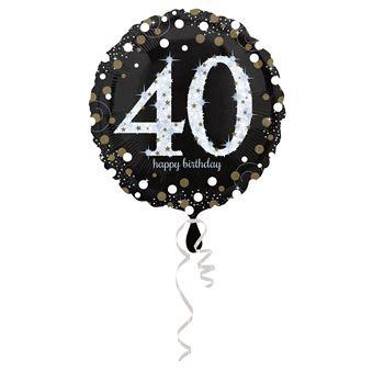 Amscan 3213001 balão de brincar Preto e Castanho e Branco