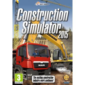 Construction Simulator 2015 - UK & Europe only (PC DVD/MAC)