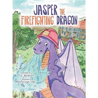 jasper The Firefighting Dragon Paperback -