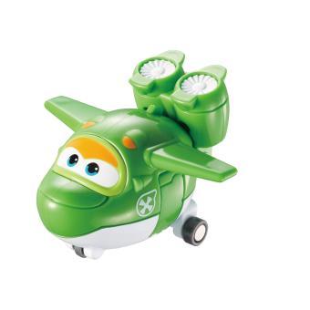 Figura de acção Transform-a-Bot Super Wings Mira Verde e Branco