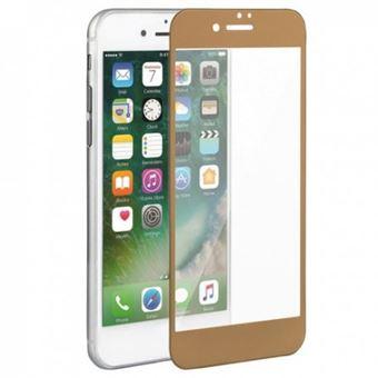 Película Ecrã de Vidro Temperado Lmobile 5D Full Cover para iPhone 7 Plus/ iPhone 8 Plus Dourado Simples