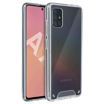 Capa Avizar para Samsung Galaxy A71 | Coleção Cristal | Bimatéria | Transparente