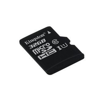 Cartão de Memória Kingston Technology microSDHC Class 10 UHS-I Card 32GB