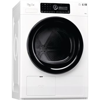 Máquina de Secar Roupa Carga Frontal Whirlpool HSCX 10441 10Kg A++ Branco