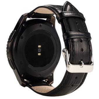 fc2ecd1e4af Pulseira PU Magunivers crocodilo preto para Samsung Gear S3 Frontier S3  Classic - Bracelete Relógio - Compra na Fnac.pt