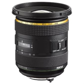 Pentax 21230 lente de máquina fotográfica Câmara compacta Objetiva ultra ampla Preto