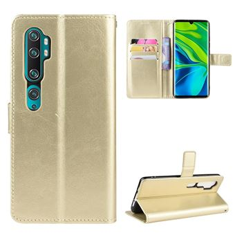 Capa Magunivers | TPU superfície do cavalo louco Dourado para Xiaomi Mi Note 10/Note 10 Pro/CC9 Pro