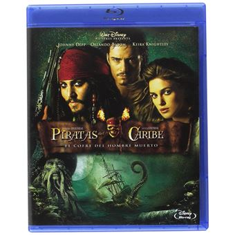 Pirates of the Caribbean: Dead Man's Chest / Piratas Del Caribe: El Cofre Del Hombre Muerto (Blu-ray)