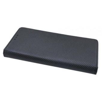 Capa Lmobile Flip Carteira / Livro Smart para Sony Xperia L2 Preto
