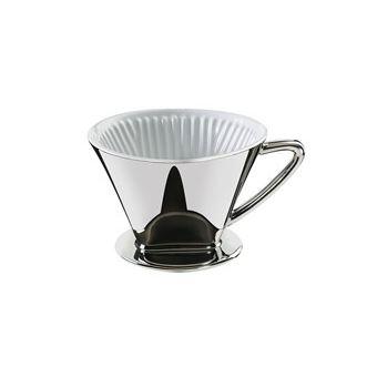 Cilio 106152 filtro para café Copo Filtro de café reutilizável Prateado 1 peça(s)