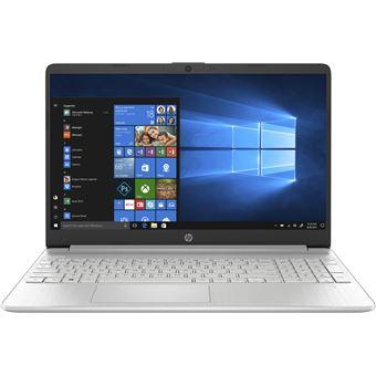 "Portátil HP 15s-fq0012nl i7 SSD 256GB 15.6"" Prateado"