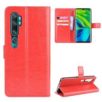 Capa Magunivers | TPU superfície do cavalo louco Vermelho para Xiaomi Mi Note 10/Note 10 Pro/CC9 Pro