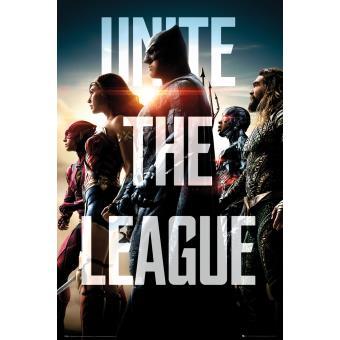 Poster em tubo GB Posters DC Comics Justice League Movie Team 61 x 91,5 cm