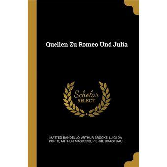 quellen Zu Romeo Und Julia Paperback -