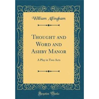 thought And Word And Ashby Manor Hardcover
