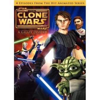 Star Wars - The Clone Wars Vol.1 - A Galaxy Divided