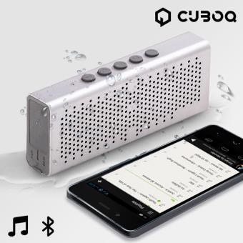 Altifalante Bluetooth Waterproof CuboQ Metal