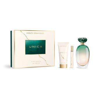 Perfume Adolfo Dominguez Unica EDT 100ml + Body Lotion 75ml + Miniatura EDT 10ml