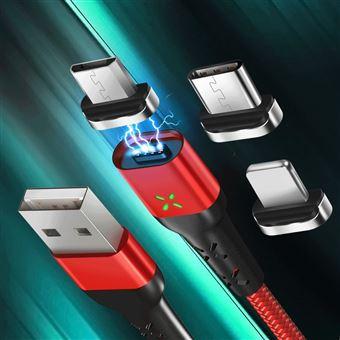 Cabo USB Magnético Goeik com Ponta Magnética Lightning Iphone