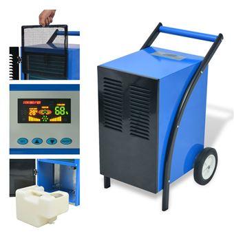 Desumidificador vidaXL com descongelamento a gás quente 50 L/24h 860W