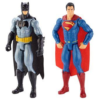 Figura DC Comics Batman VS Superman 30 Centímetros Pacote Duas