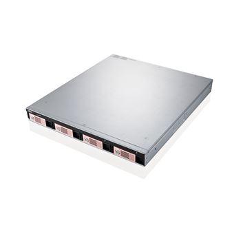 Fujitsu CELVIN NAS QR806 Prateleira (1U) Ethernet LAN Preto, Prateado