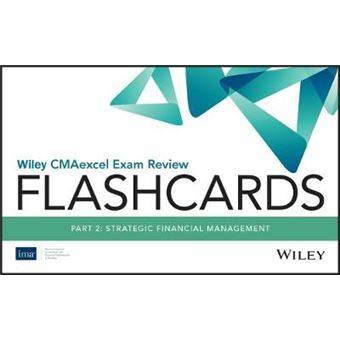 Wiley Cmaexcel Exam Review 2020 Flashcards