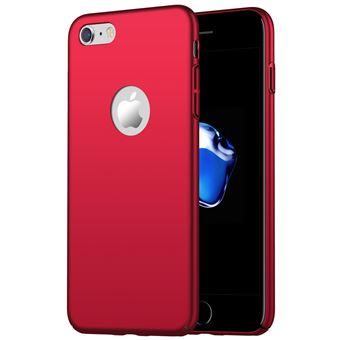 Capa Dura WISETONY para Apple iPhone 8 Vermelho