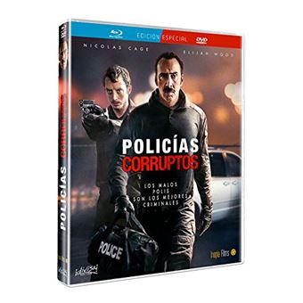 The Trust (2016) (BD + DVD) / Policías corruptos (2Blu-ray)