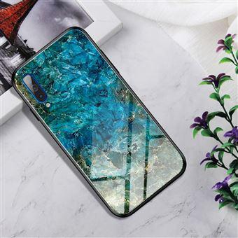 Capa Magunivers para Samsung Galaxy A50 e TPU Híbrido de Cor Gradiente Esmeralda