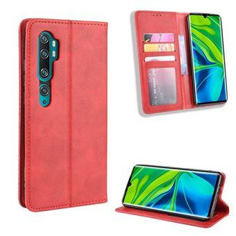 Capa Magunivers | TPU retro Vermelho para Xiaomi Mi Note 10/Note 10 Pro/CC9 Pro