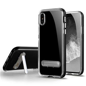 Capa Phonecare Spigen Crystal Hybrid para iPhone X / Xs - Preto