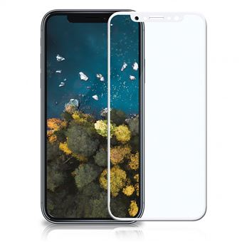 Película Ecrã Cobertura Total Vidro Temperado dmobile para iPhone X Full Cover 3D Branco