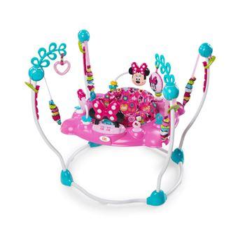 Cadeira Baloiço Disney para Bebé Minnie Mouse Rosa K10299
