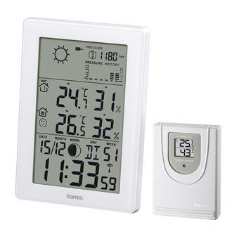 Estações meteorológicas digitais Hama EWS-3200 Branco
