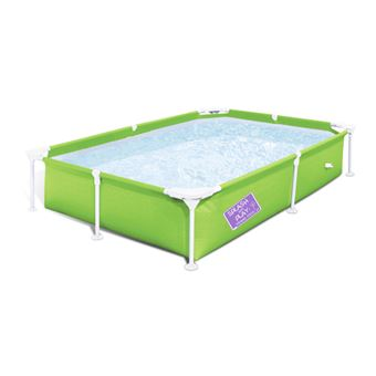 Piscina Acima Do Solo Bestway Steel Pro 2.21m X 1.50m X 43cm My First Frame  Pool   Piscinas Acima Do Solo   Compre Na Fnac.pt