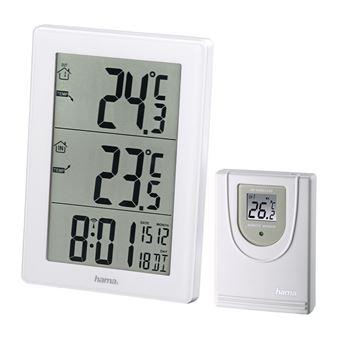 Estações meteorológicas digitais Hama EWS-3000 Branco Bateria