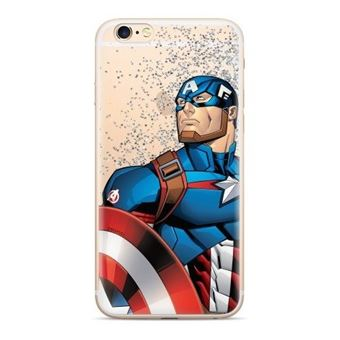 Capa LMobile Traseira Liquida Marvel para Apple Iphone Xs Max