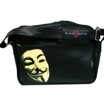 Mala SD Toys DC Comics Máscara And Logo Black V For Vendetta