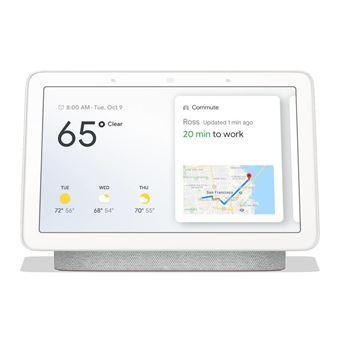 Assistente Virtual Google Home Hub Preto, Cinzento